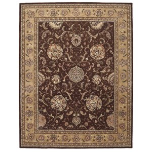 2000 2206 Brown 9'x12'  Area Rug