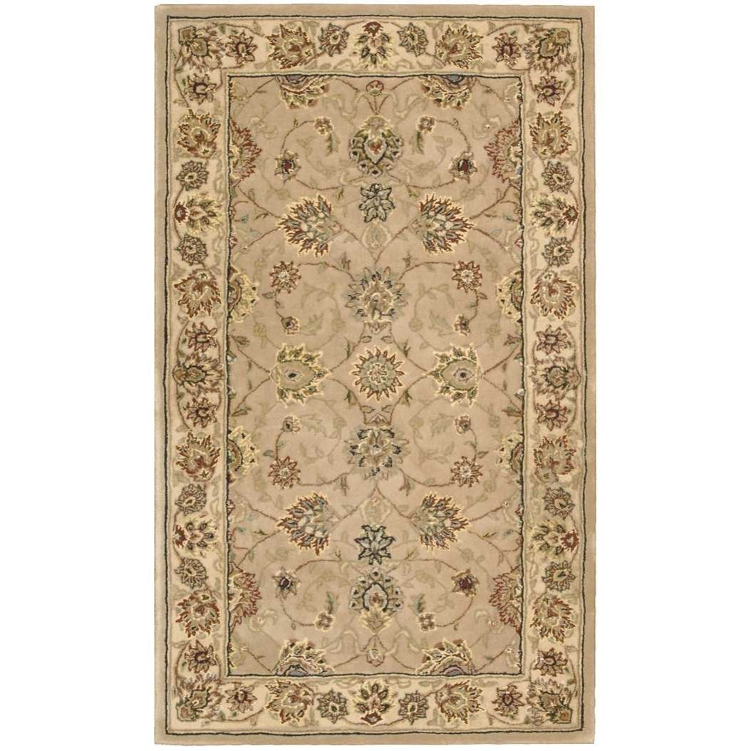Nourison 2000 2000 2071 Camel 3'x5'  Area Rug by Nourison at Home Collections Furniture