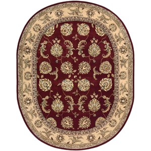 2000 2022 Lacquer 10' Oval  Area Rug