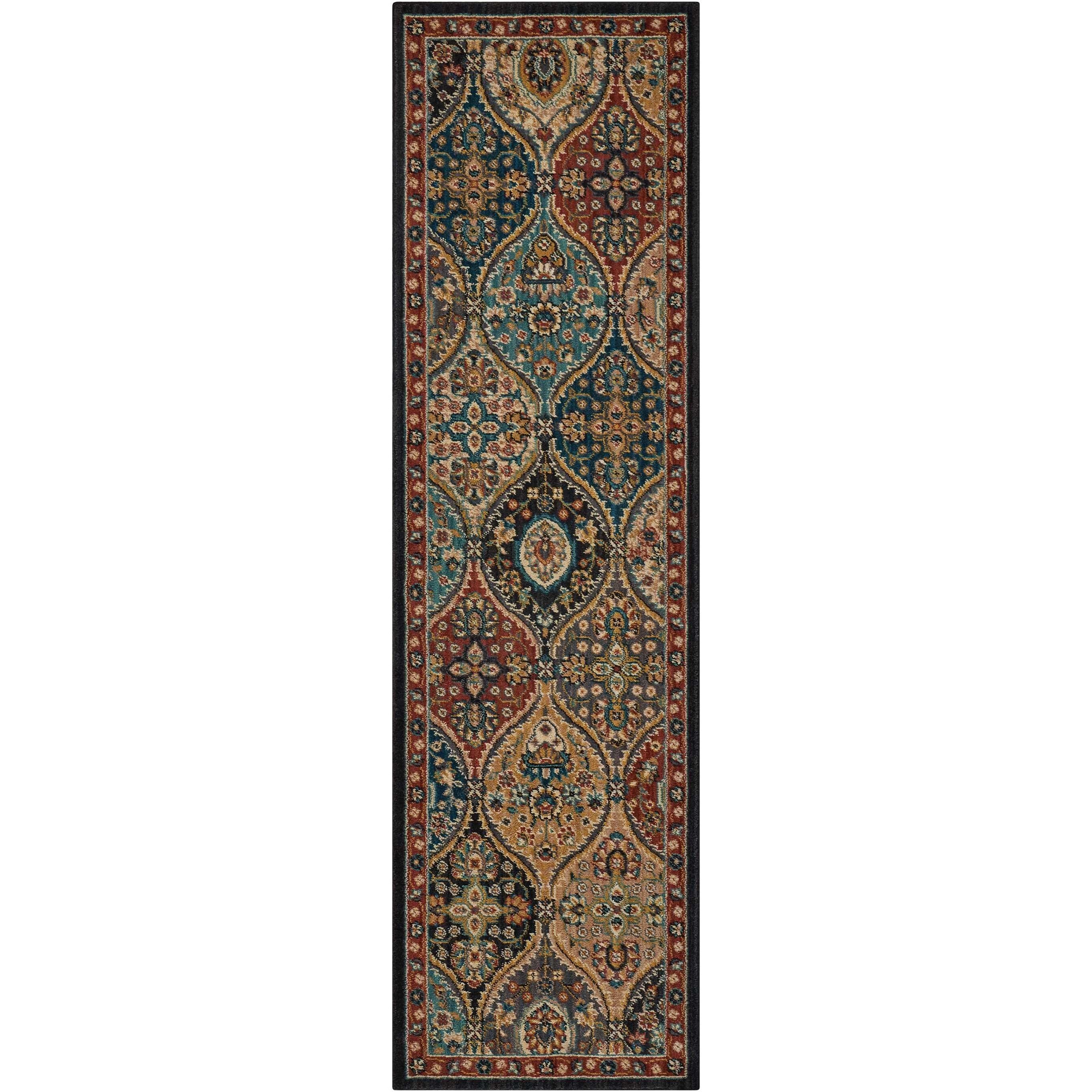 "Nourison 2020 2'3"" X 8' Multicolor Rug by Nourison at Sprintz Furniture"