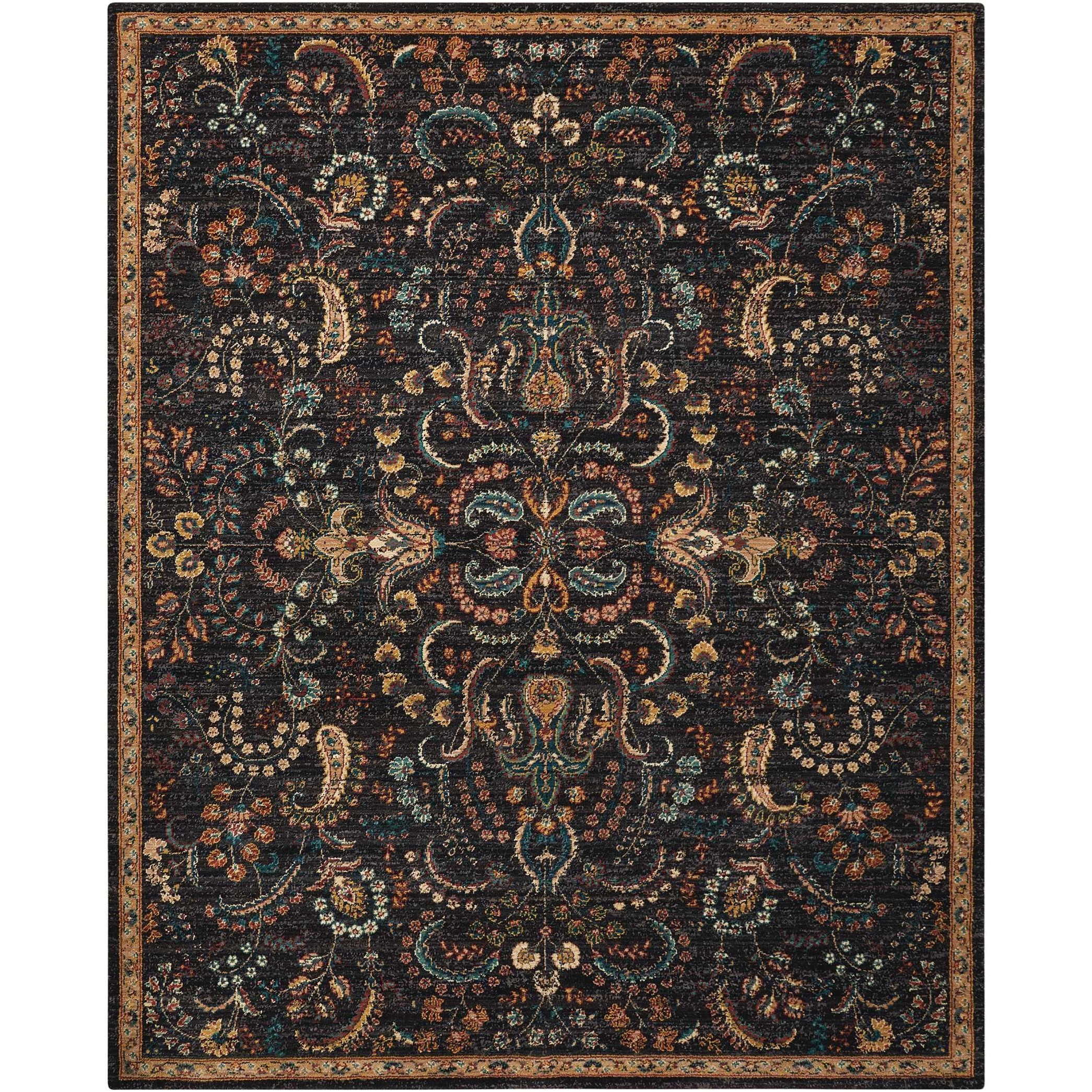 """Nourison 2020 8' X 10'6"""" Night Fall Rug by Nourison at Darvin Furniture"""