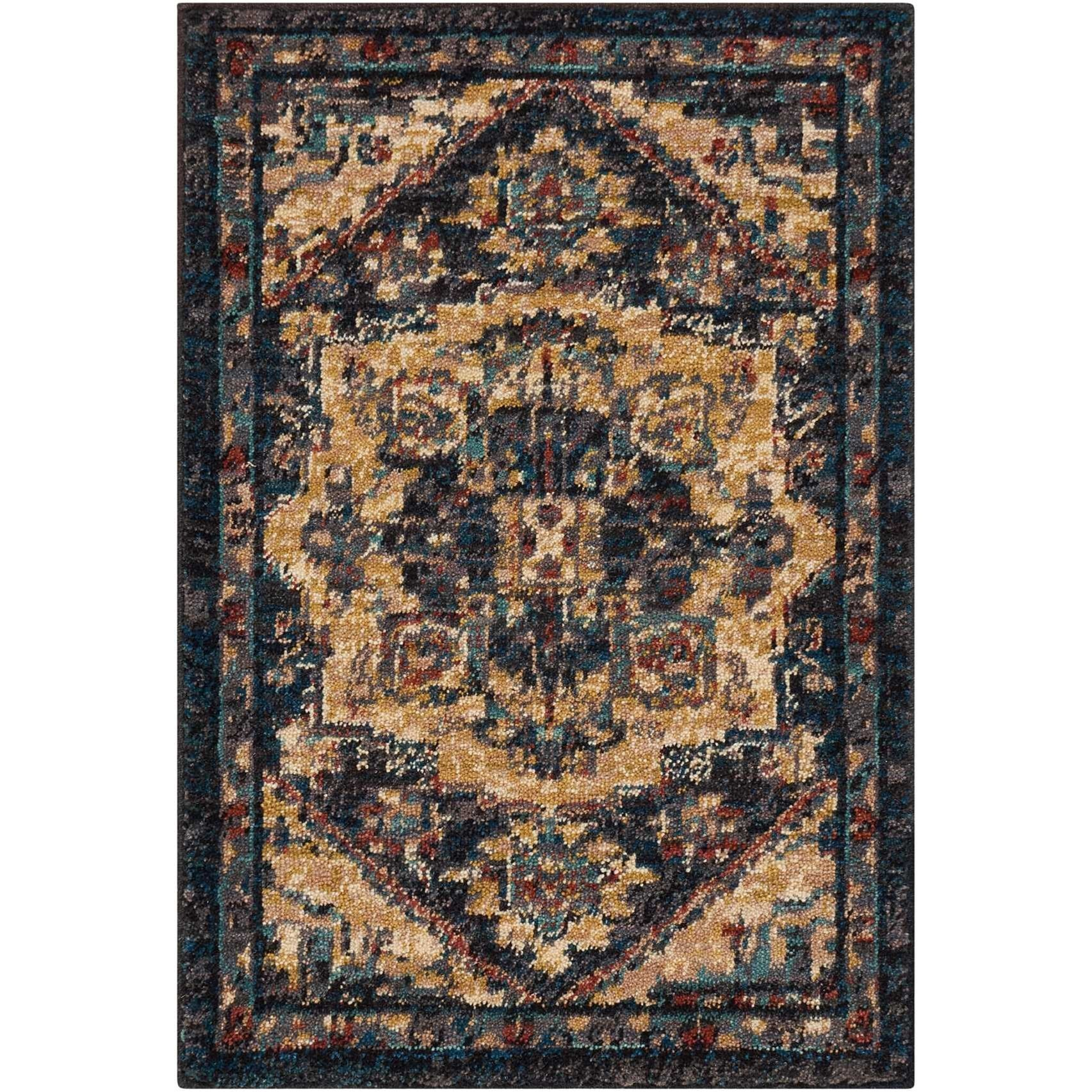 Nourison 2020 2' X 3' Midnight Rug by Nourison at Home Collections Furniture
