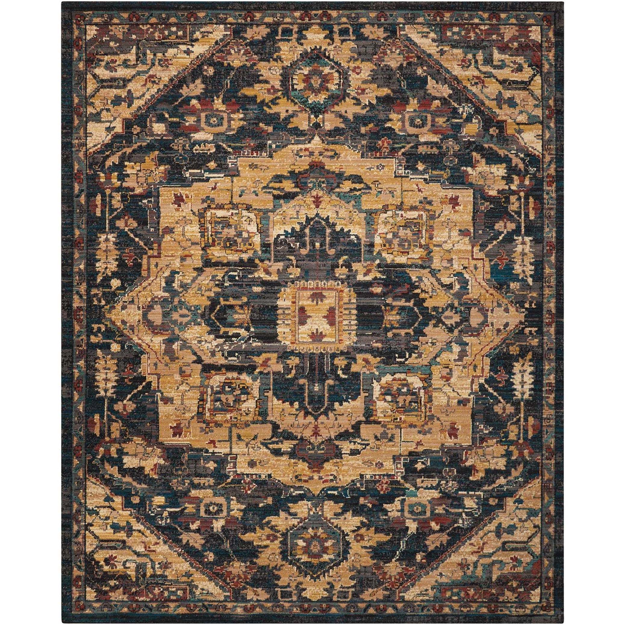 """Nourison 2020 9'2"""" X 12'5"""" Midnight Rug by Nourison at Home Collections Furniture"""