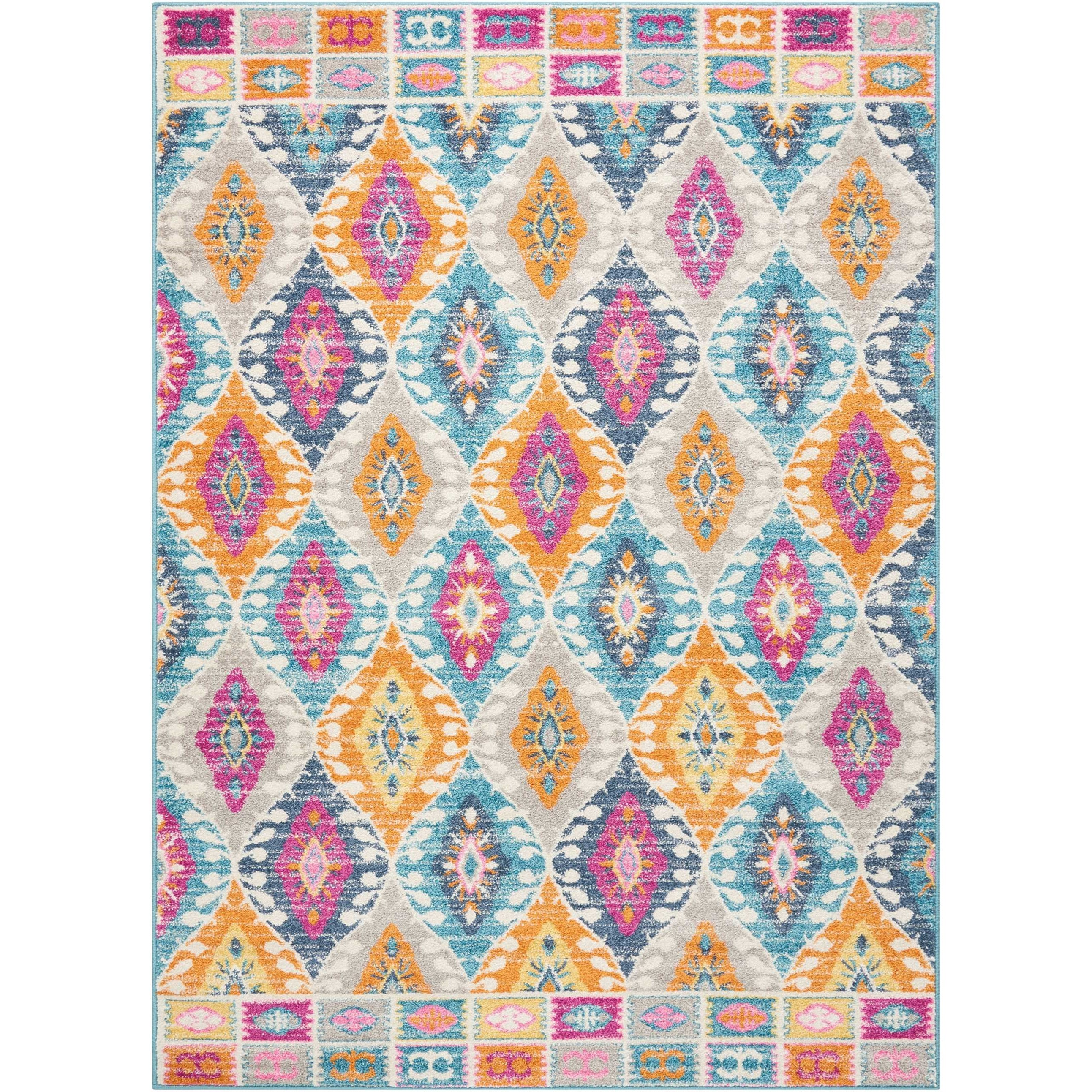 "Passion 5'3""X7'3""  Rug by Nourison at Home Collections Furniture"