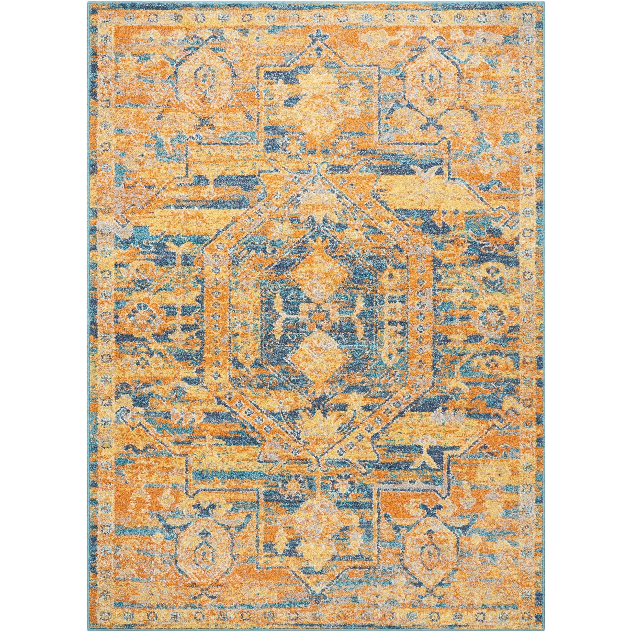 "Passion 6'7""X9'6""  Rug by Nourison at Home Collections Furniture"