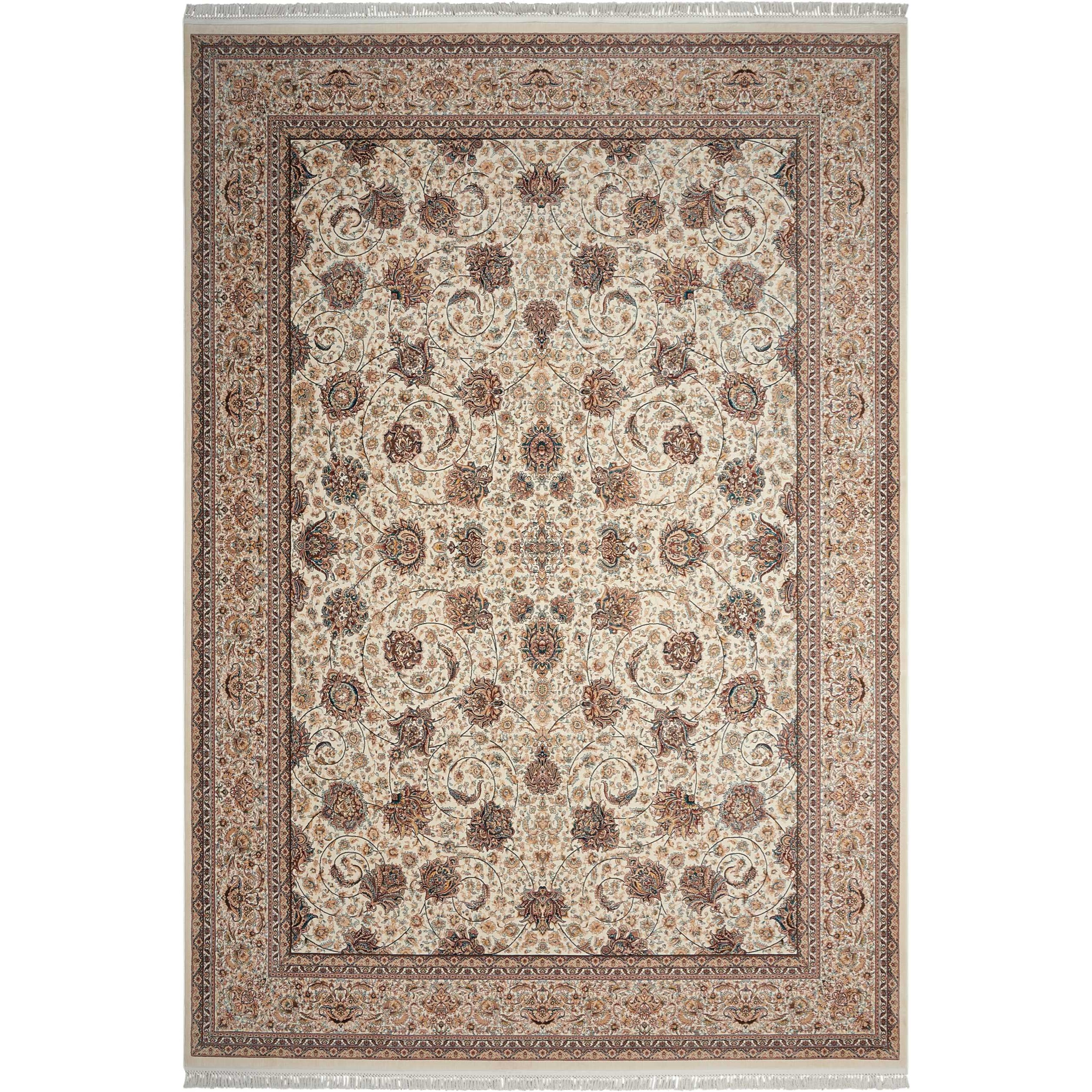"Persian Palace 3'11"" X 5'11"" Cream Rug by Nourison at Sprintz Furniture"