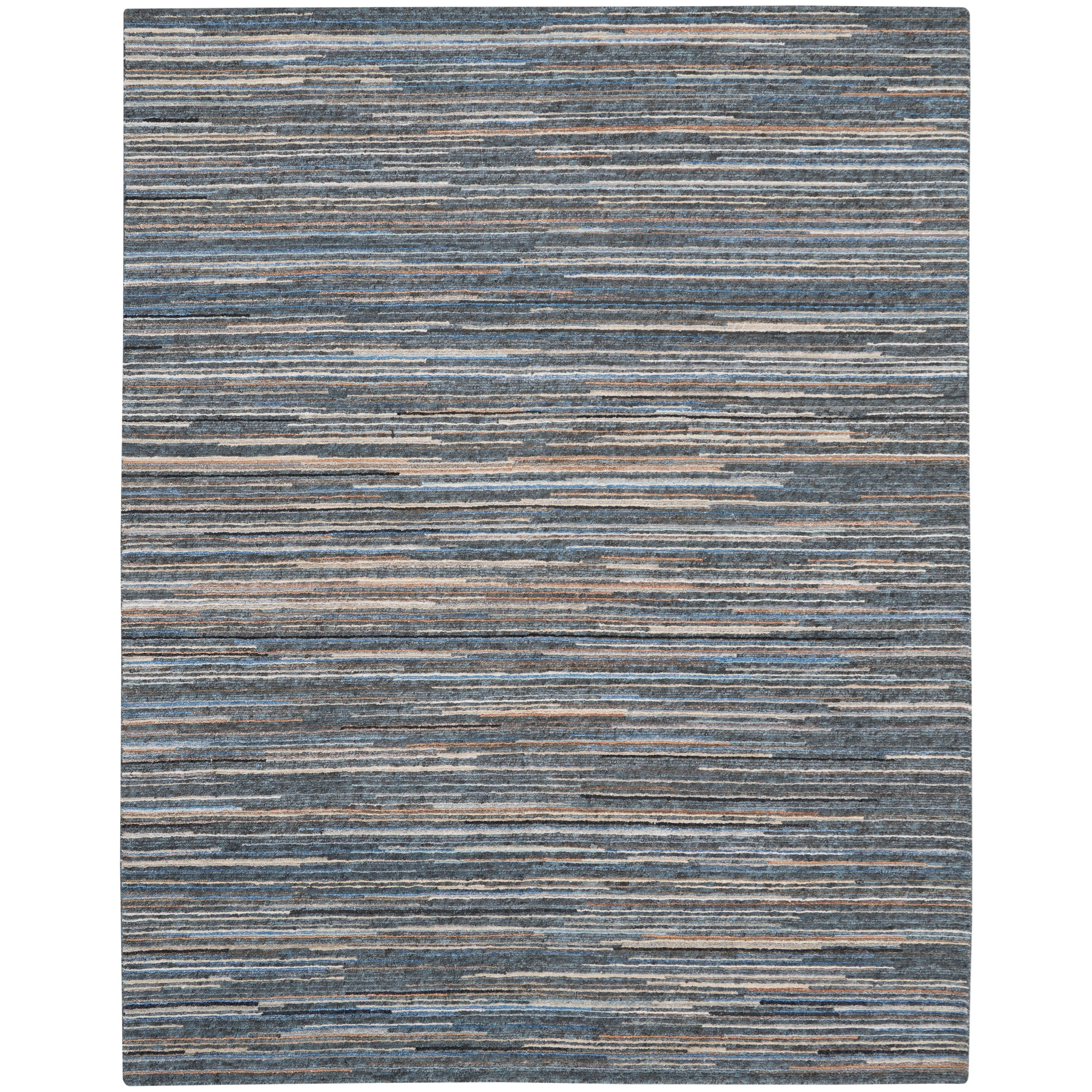 Plateau 2020 8' x 10' Rug by Nourison at Home Collections Furniture
