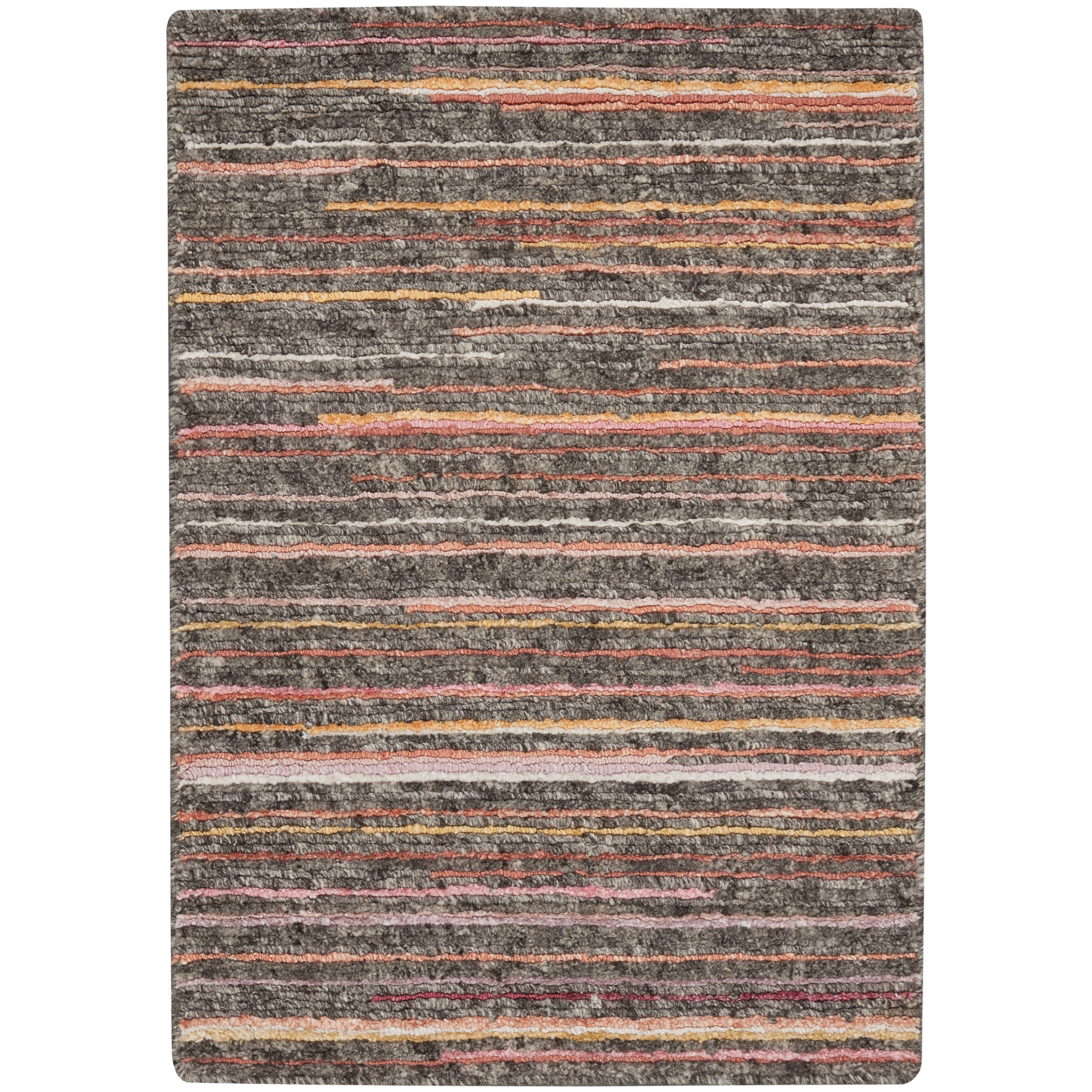 Plateau 2020 2' x 3' Rug by Nourison at Home Collections Furniture