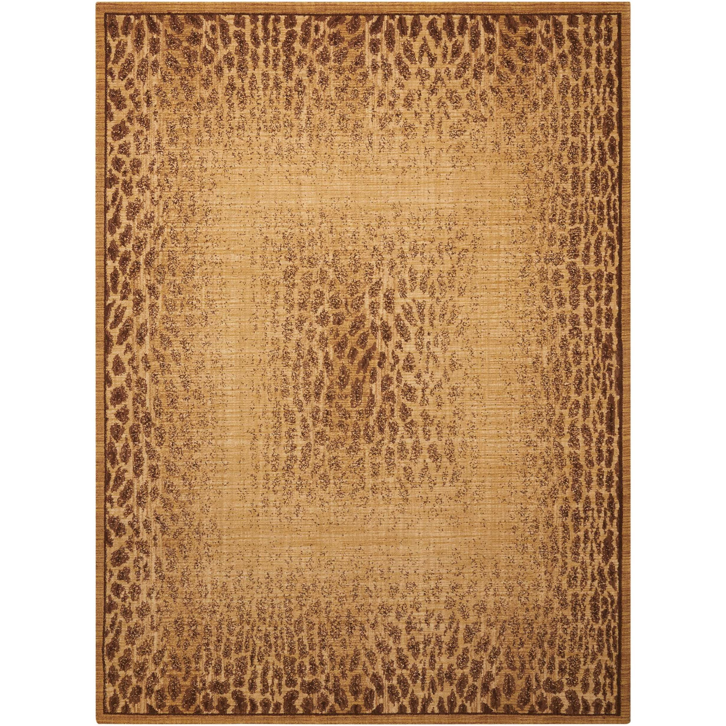 """Radiant Impression 9'6"""" x 13'6"""" Beige Rectangle Rug by Nourison at Home Collections Furniture"""