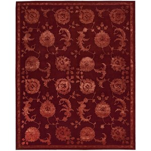 "3'9"" x 5'9"" Garnet Rectangle Rug"