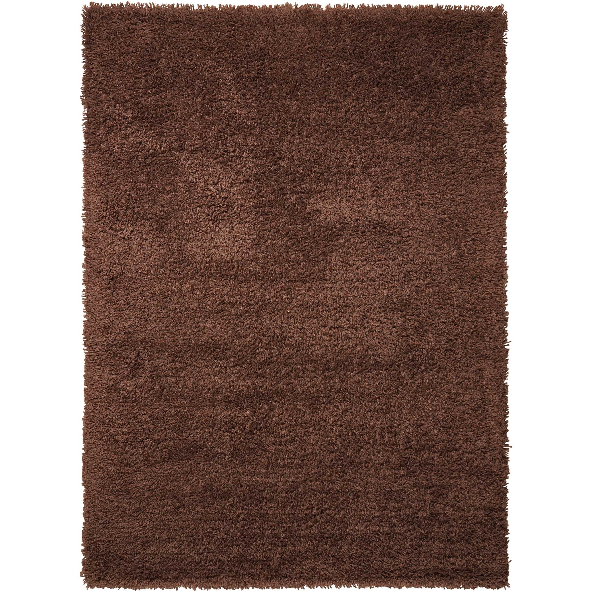 """Splendor 2'3"""" x 3'9"""" Chocolate Rectangle Rug by Nourison at Home Collections Furniture"""