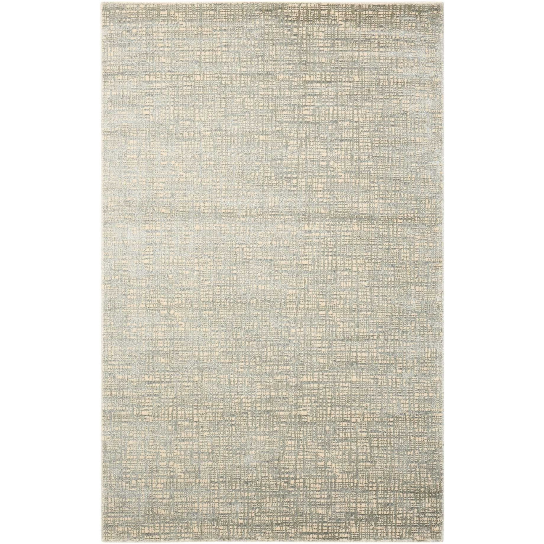 "Starlight 9'3"" x 12'9"" Sea Mist Rectangle Rug by Nourison at Home Collections Furniture"