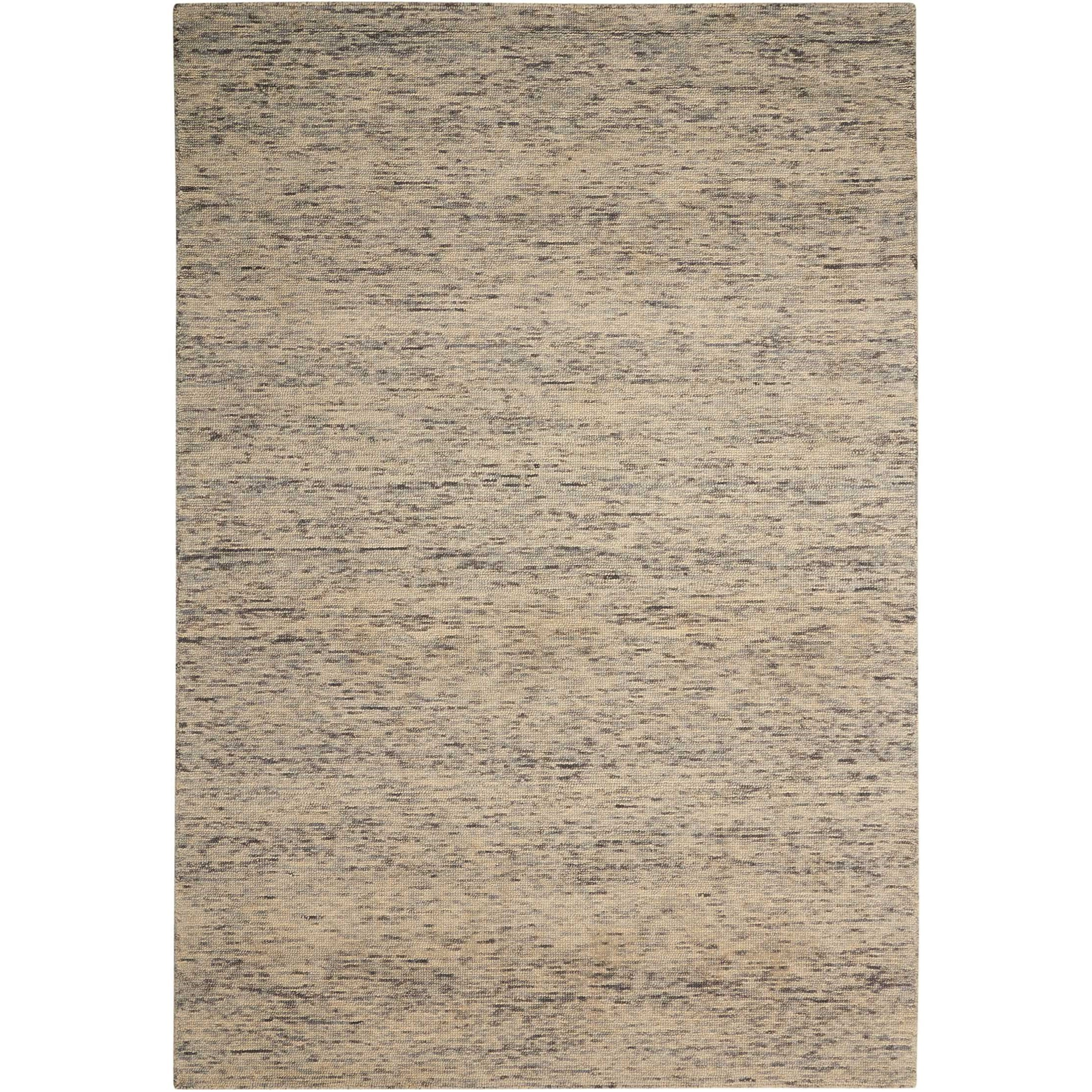 """Sterling 2'6"""" x 4' Grey Rectangle Rug by Nourison at Home Collections Furniture"""
