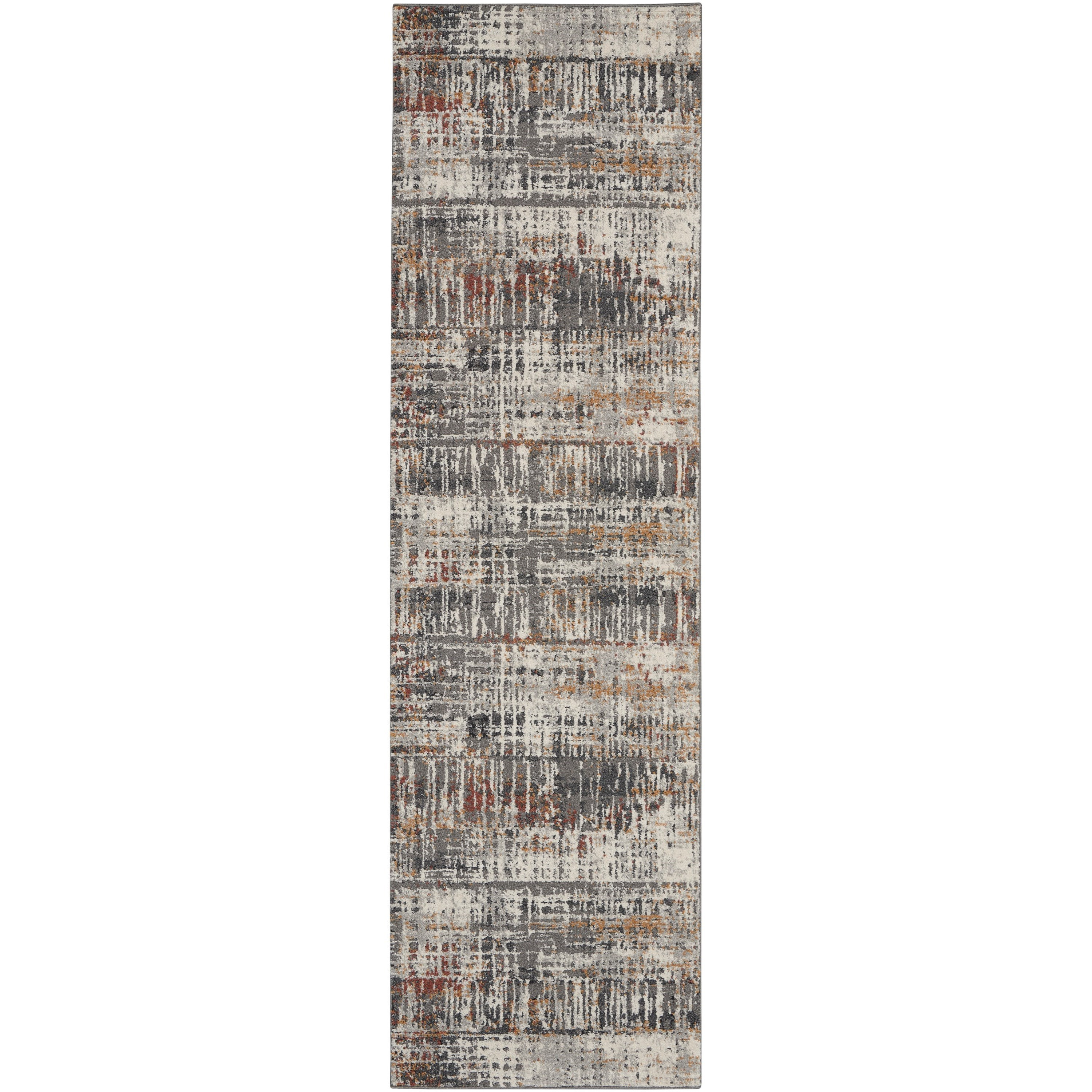 Tangra 2020 8' Runner Rug by Nourison at Home Collections Furniture