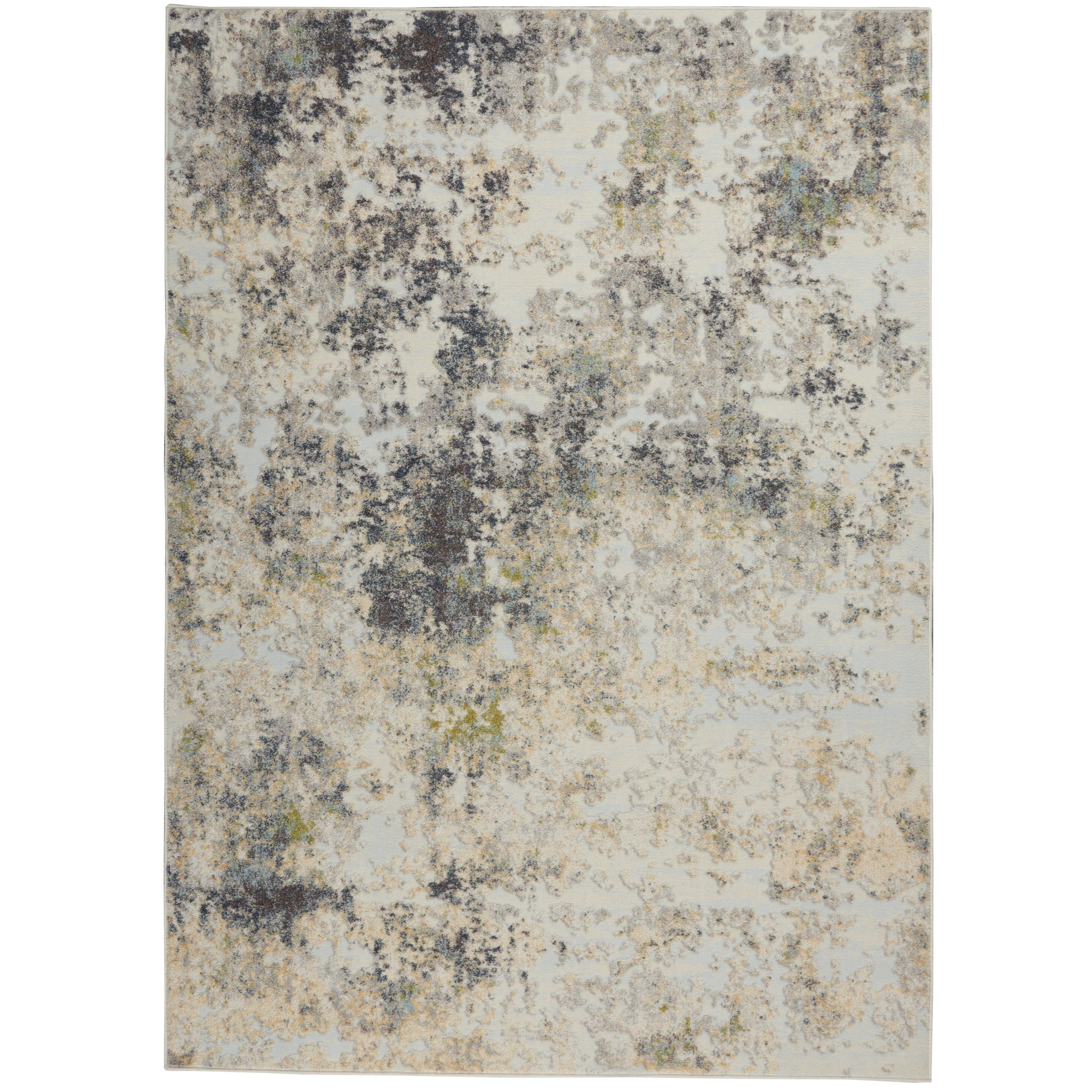 Trance 2020 4' x 6' Rug by Nourison at Home Collections Furniture