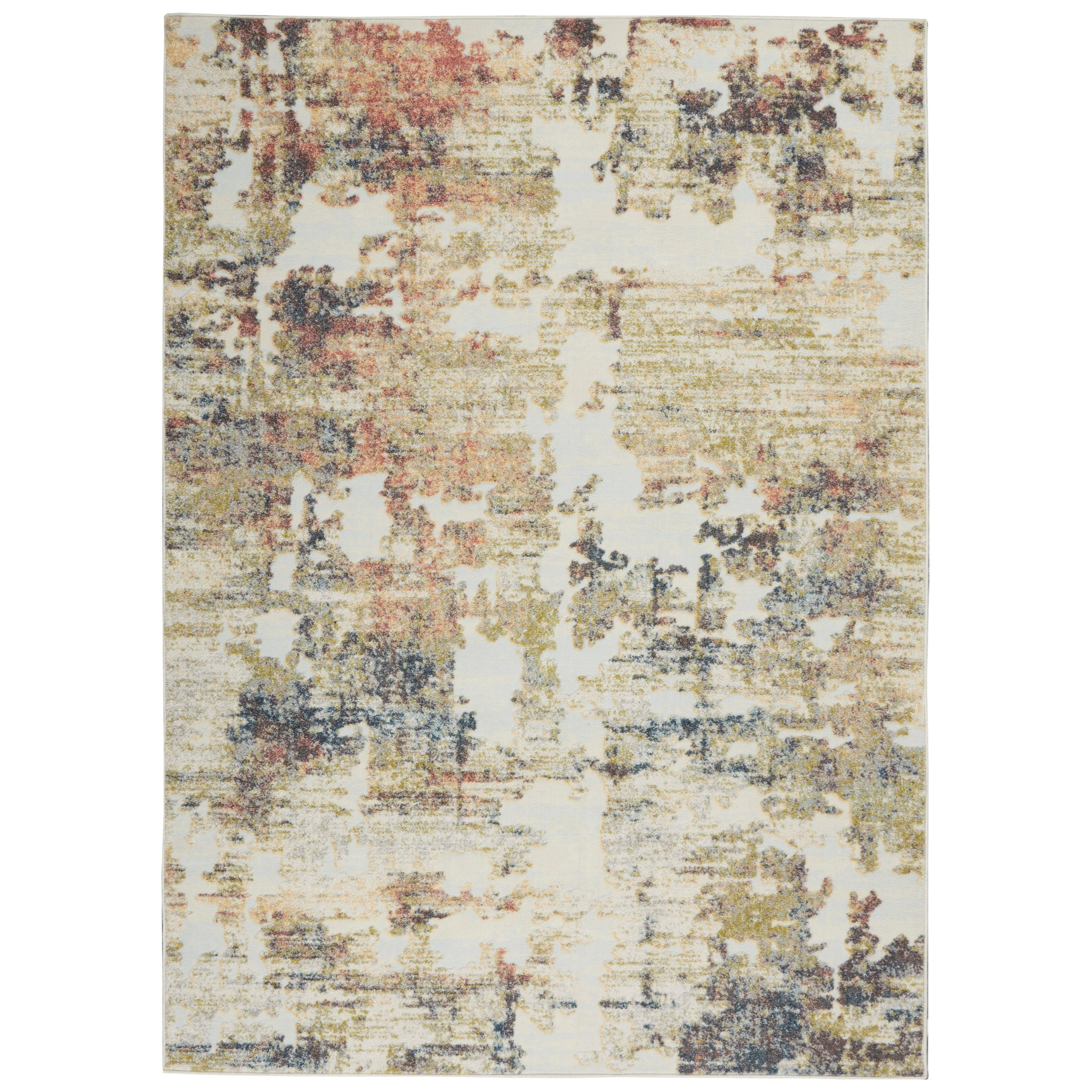 Trance 2020 5' x 7' Rug by Nourison at Home Collections Furniture