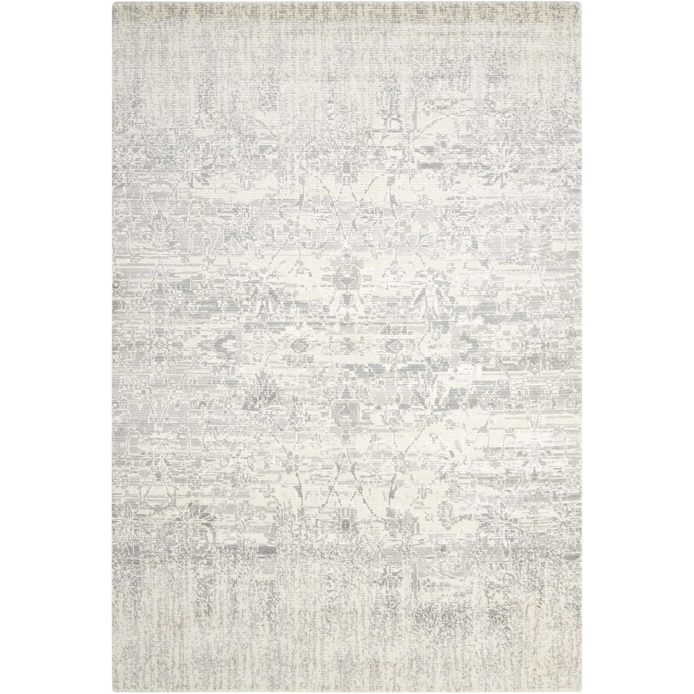 "Twilight1 5'6"" X 8' Ivory Rug by Nourison at Home Collections Furniture"