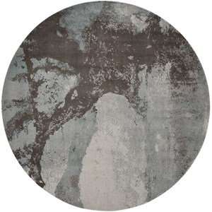 8' X 8' Sea Mist Round Rug