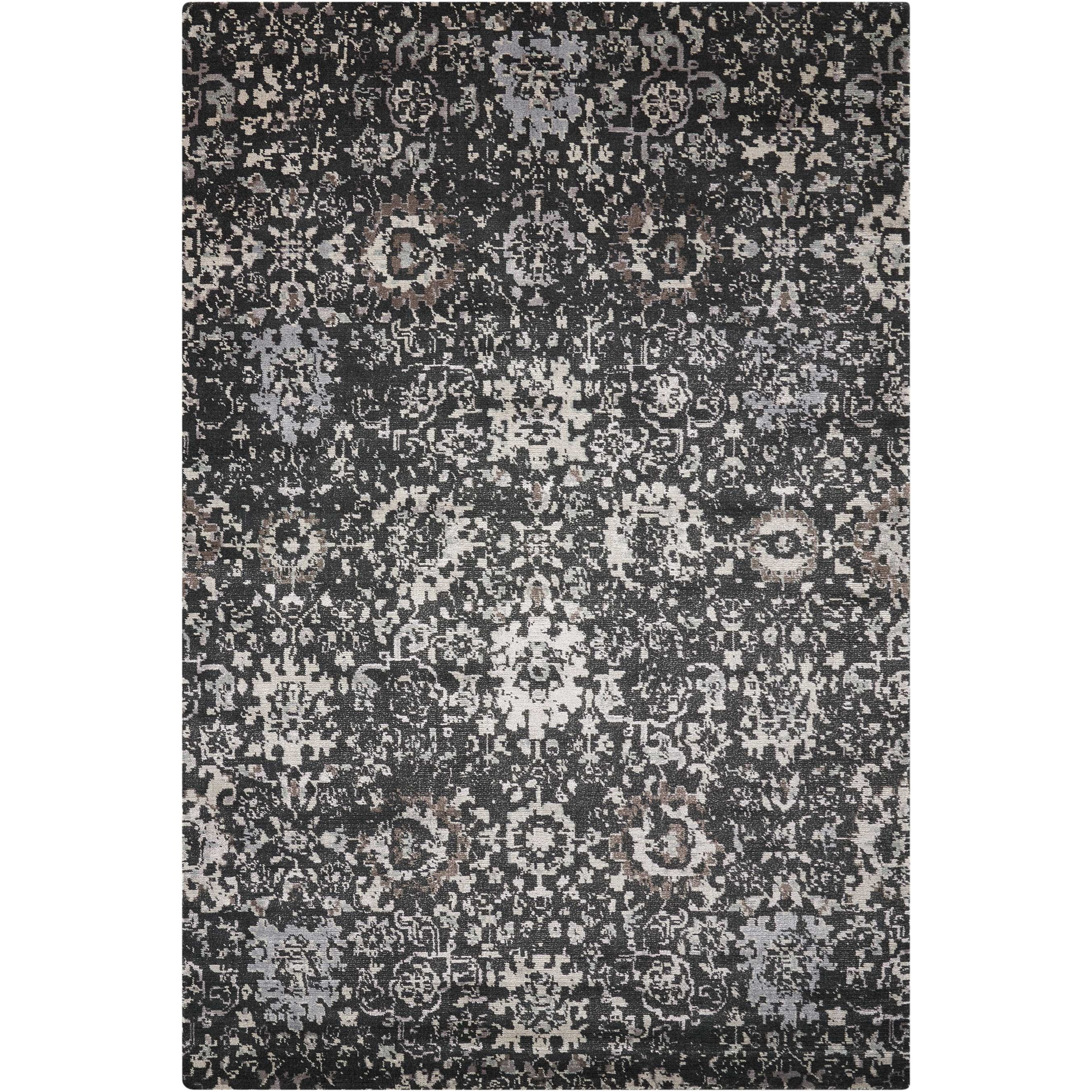 Twilight1 12' X 15' Onyx Rug by Nourison at Home Collections Furniture
