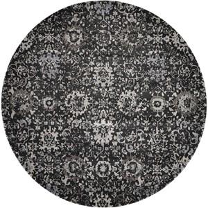 8' X 8' Onyx Round Rug
