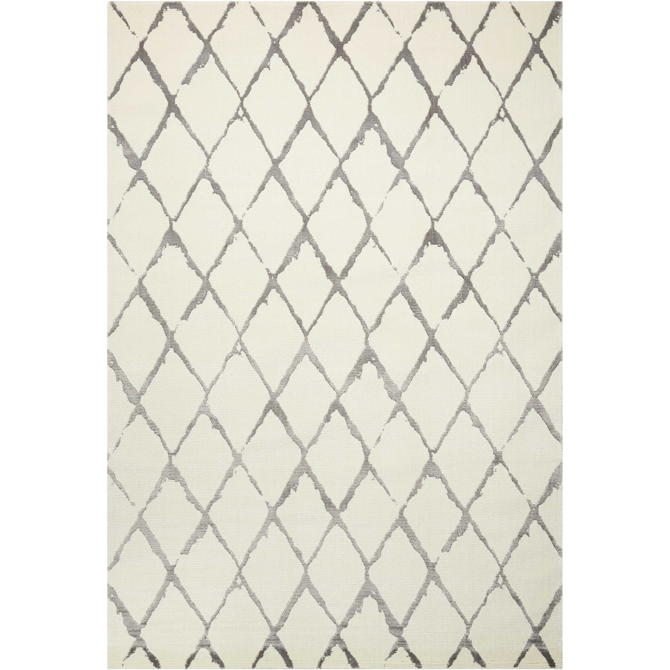 Twilight1 12' X 15' Iv/Grey Rug by Nourison at Home Collections Furniture