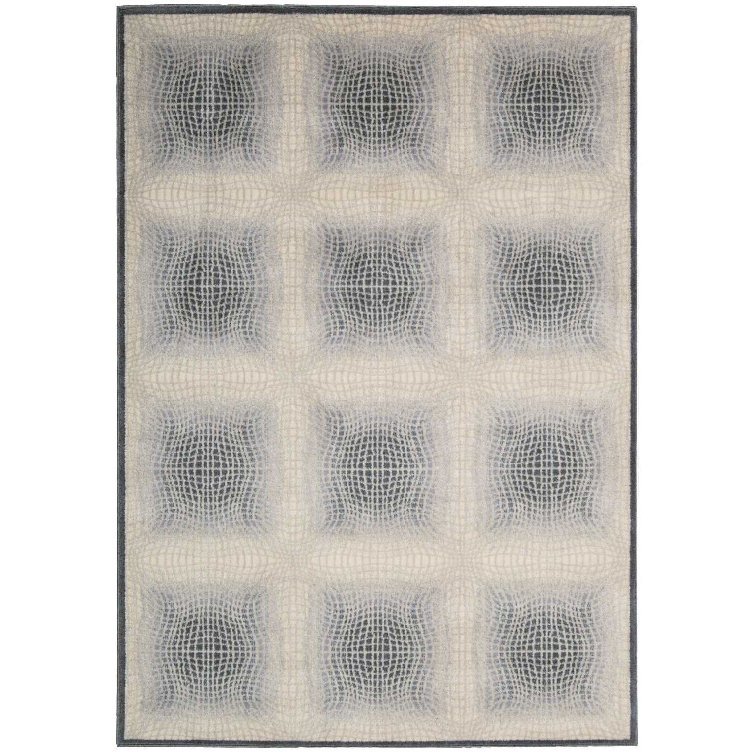 """Utopia 5'3"""" x 7'5"""" Shell Rectangle Rug by Nourison at Home Collections Furniture"""