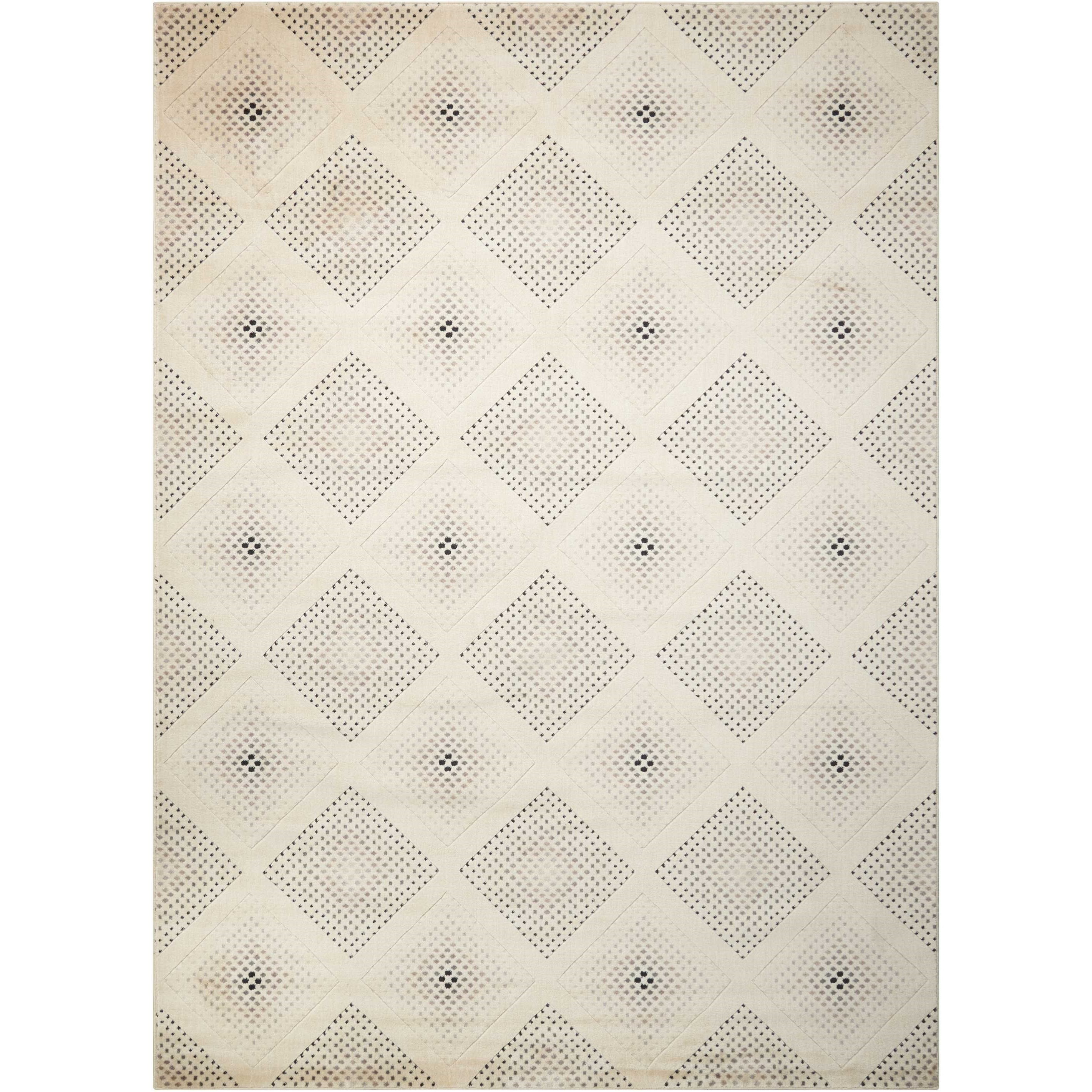 """Utopia 7'9"""" x 10'10"""" Champagne Rectangle Rug by Nourison at Home Collections Furniture"""