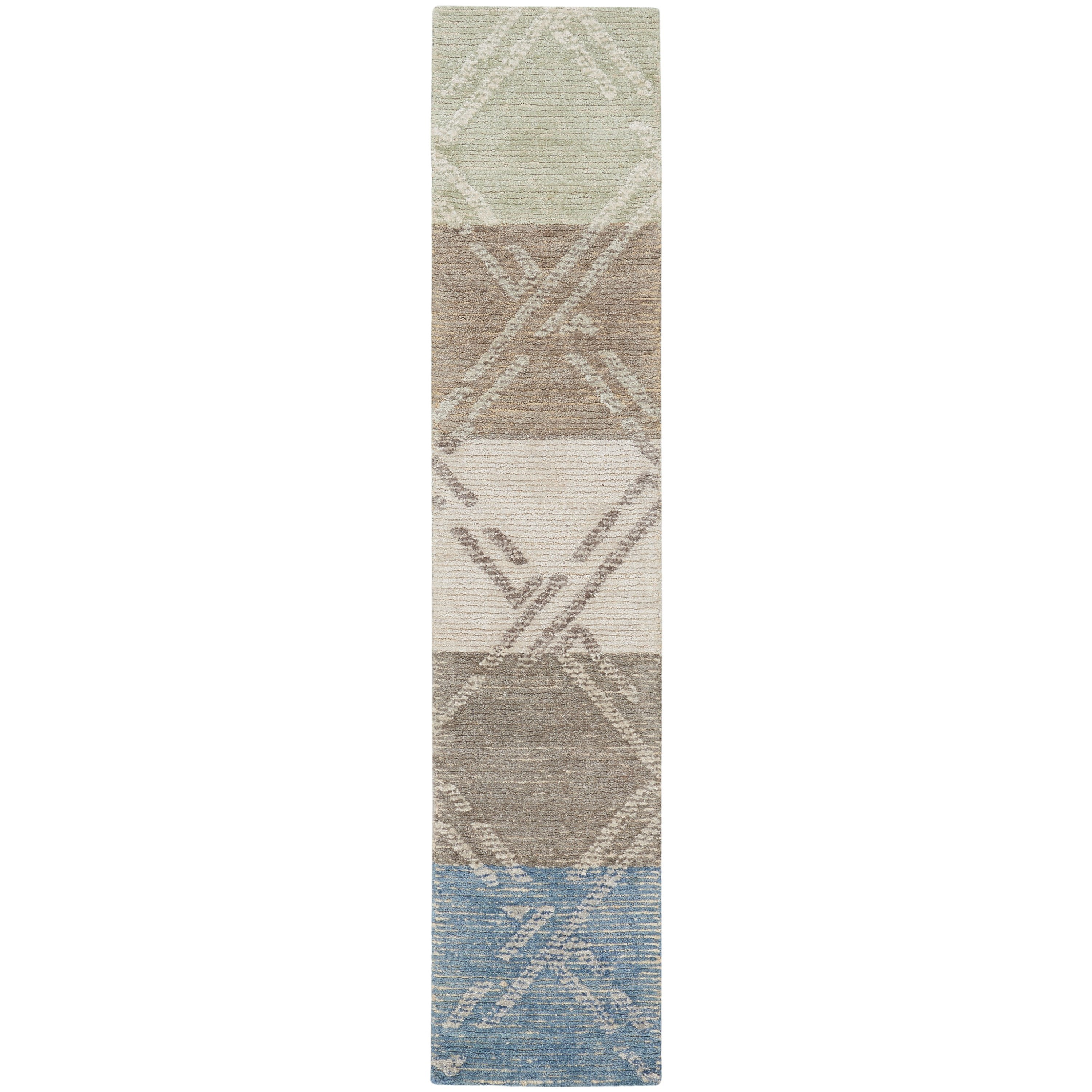 Venosa 2020 2' x 7' Rug by Nourison at Home Collections Furniture