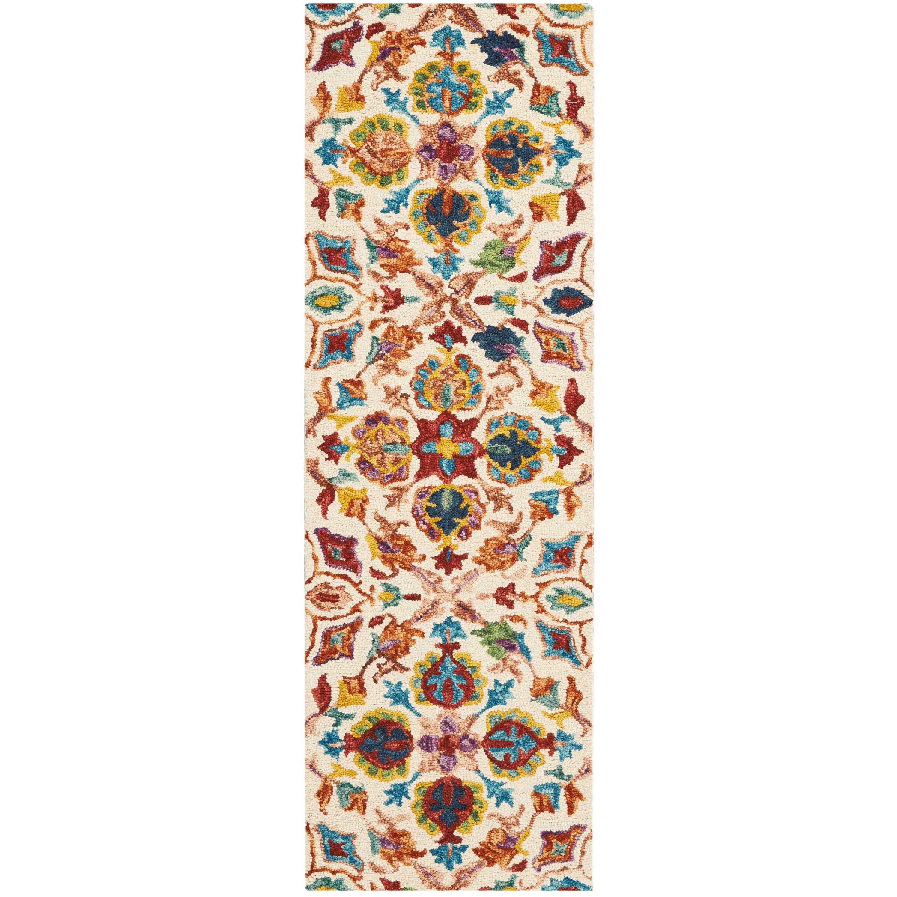 """Vibrant 2'3""""X7'6""""  Rug by Nourison at Home Collections Furniture"""
