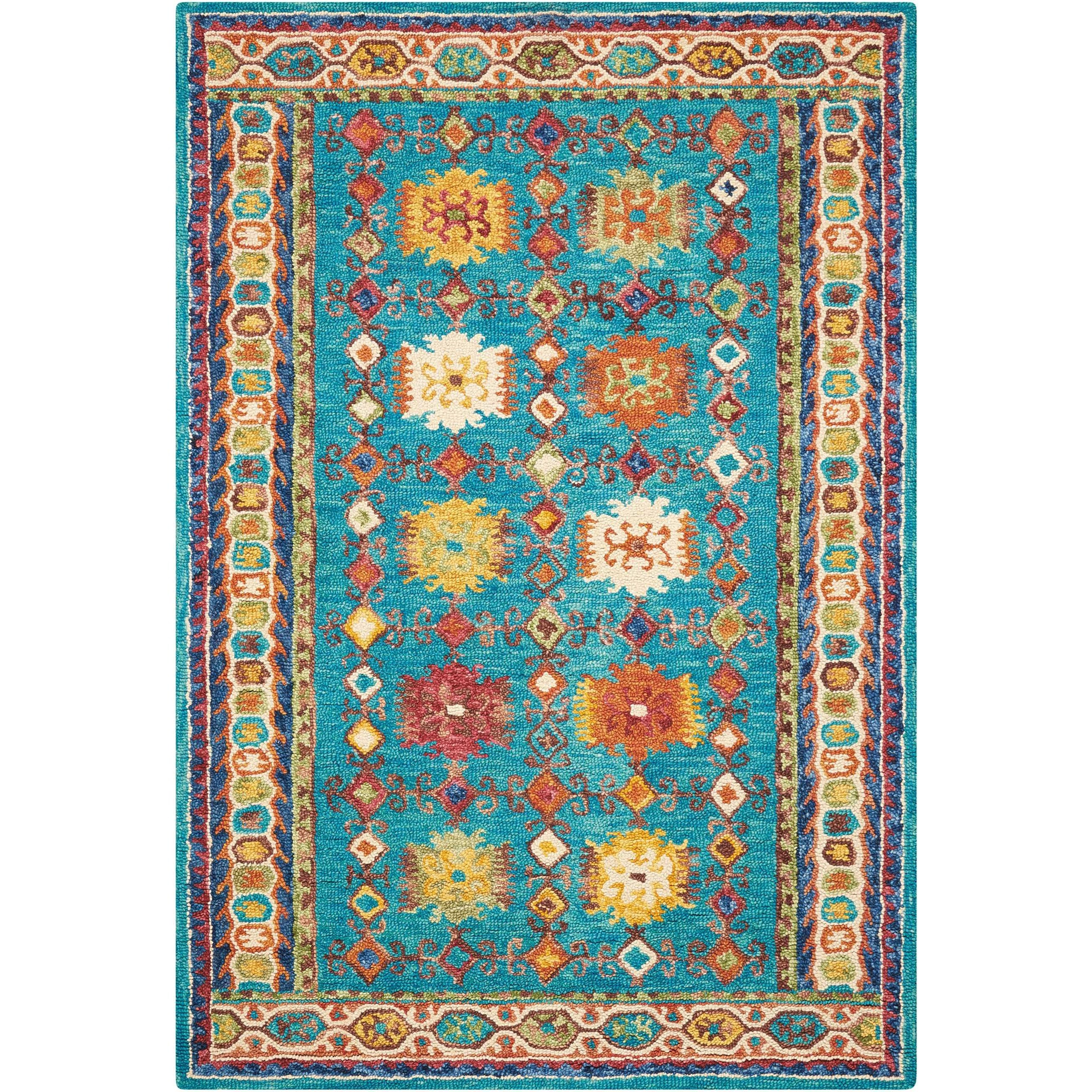 "Vibrant 8'X10'6""  Rug by Nourison at Home Collections Furniture"