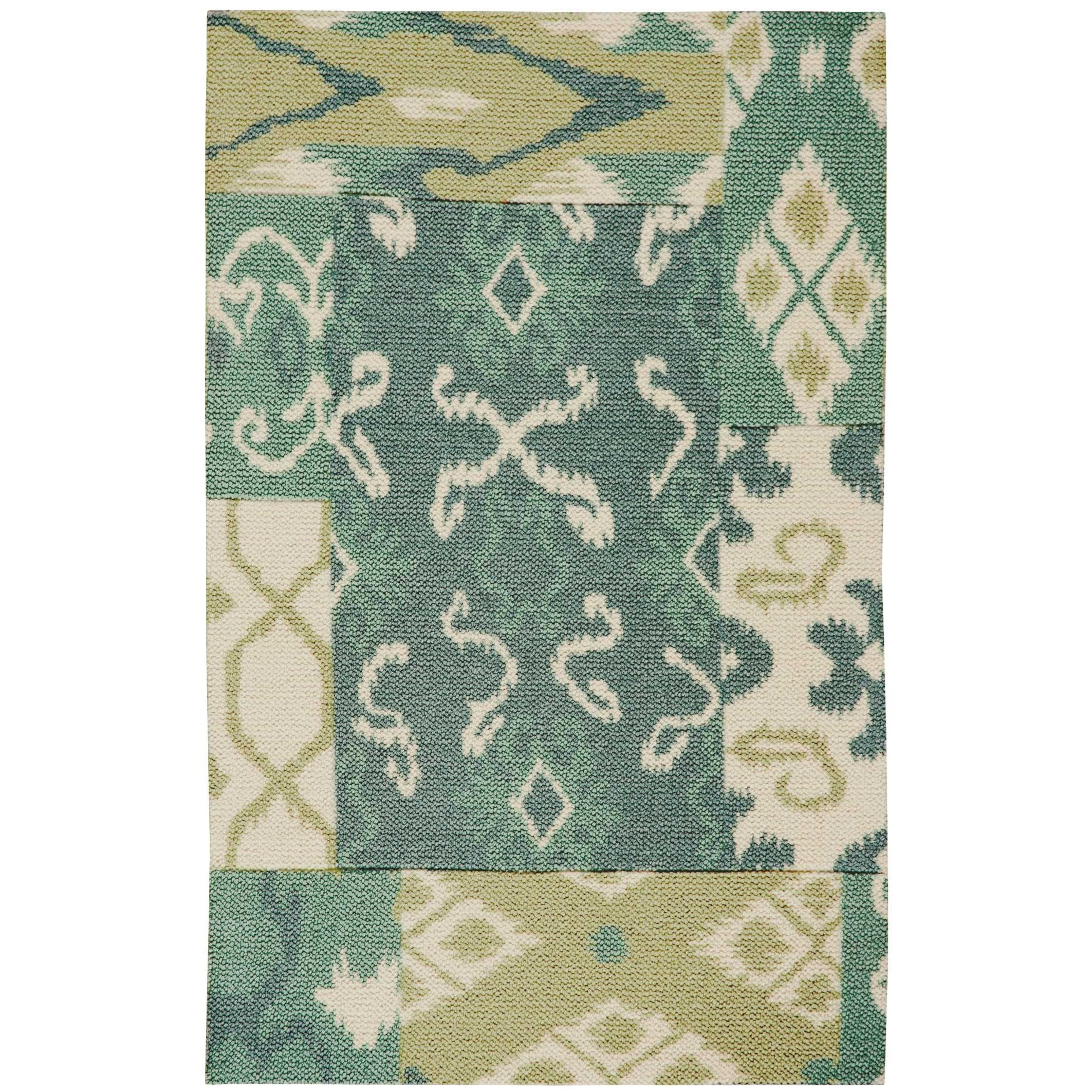 """Vista 2'6"""" x 4' Multicolor Rectangle Rug by Nourison at Home Collections Furniture"""