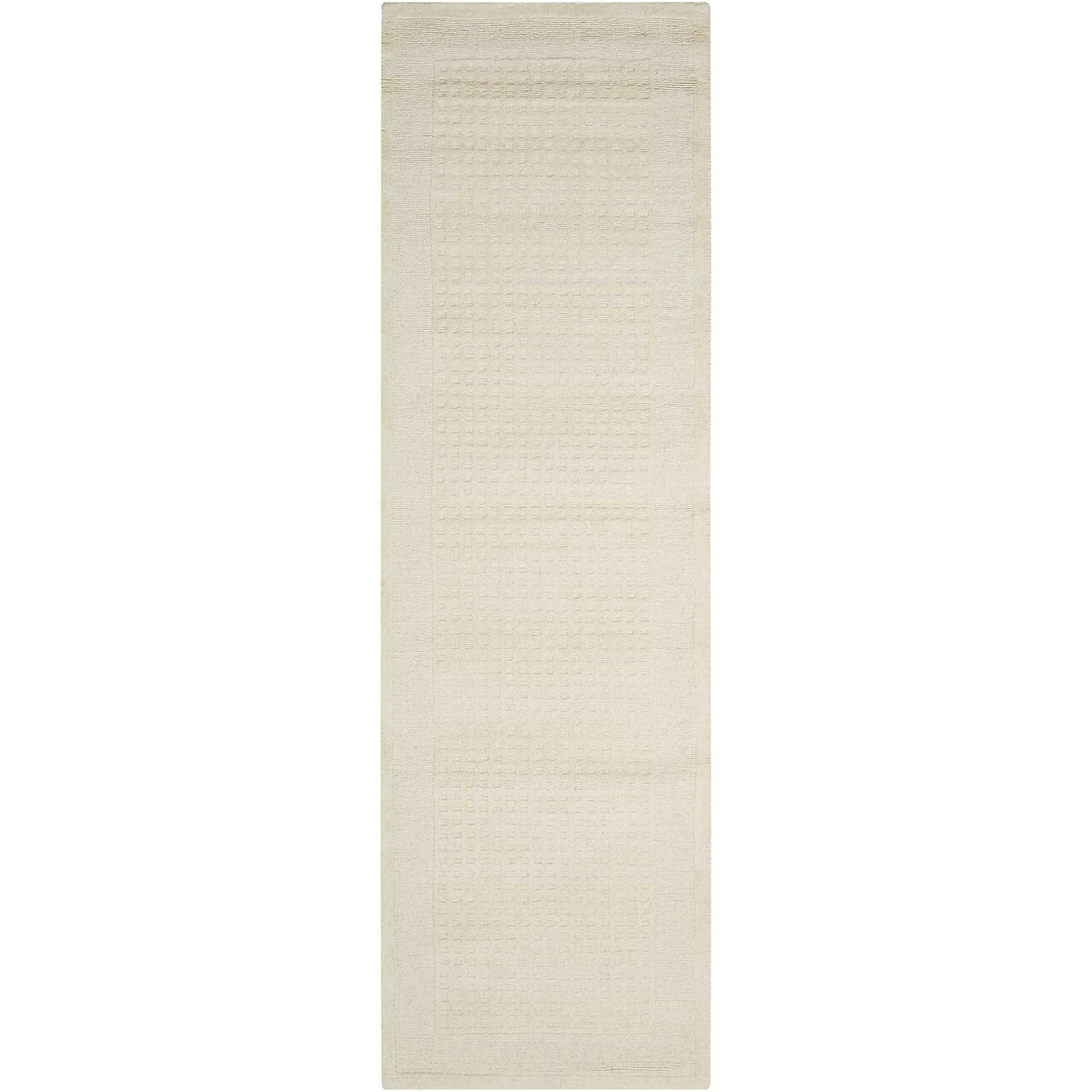 """Westport 2'3"""" x 7'6"""" Ivory Runner Rug by Nourison at Home Collections Furniture"""