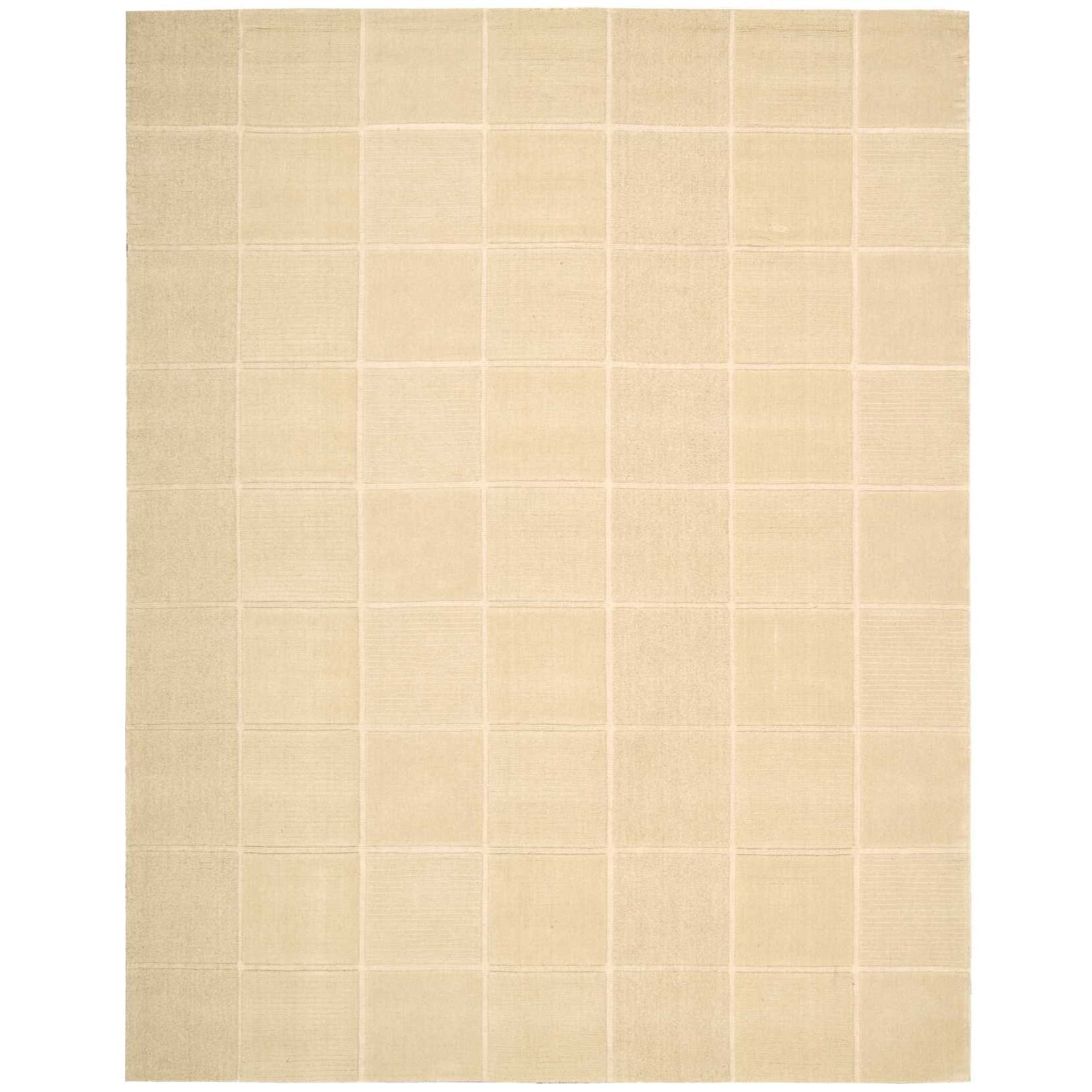"""Westport 8' x 10'6"""" Ivory Rectangle Rug by Nourison at Home Collections Furniture"""