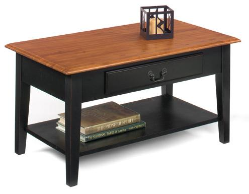 1900 International Accents Rectangular Cocktail Table by Null Furniture at Esprit Decor Home Furnishings