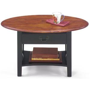 Petite Oval Cocktail Table