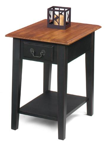 1900 International Accents Rectangular End Table by Null Furniture at Westrich Furniture & Appliances