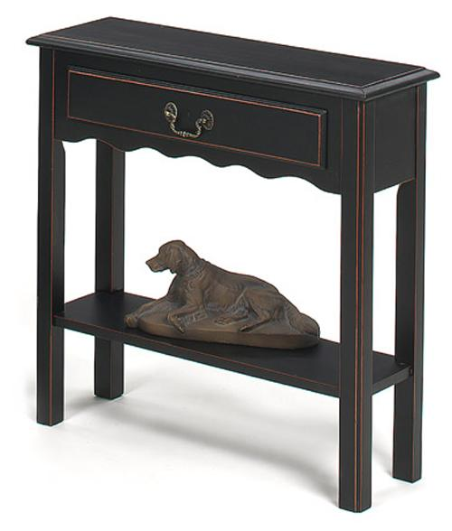 1900 International Accents Petite Console Table by Null Furniture at Westrich Furniture & Appliances