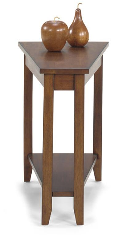 1900 International Accents Wedge End Table by Null Furniture at Westrich Furniture & Appliances