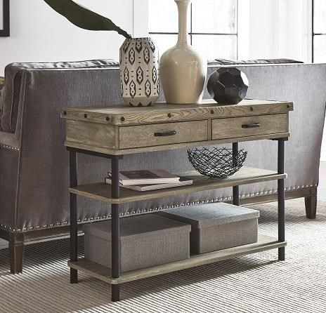 2017 Collection Media Console by Null Furniture at O'Dunk & O'Bright Furniture