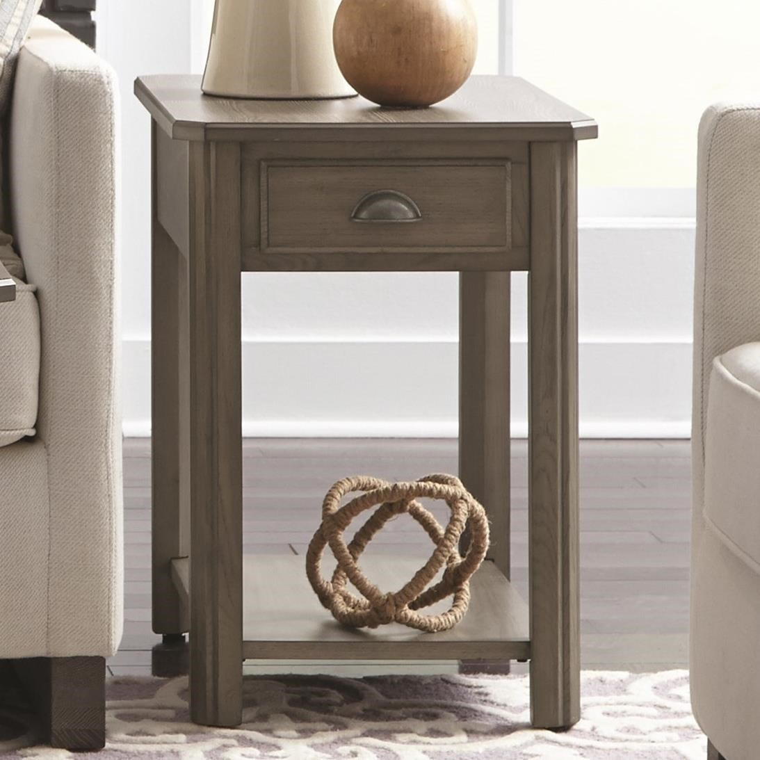 2114 Rectangular End Table by Null Furniture at Westrich Furniture & Appliances