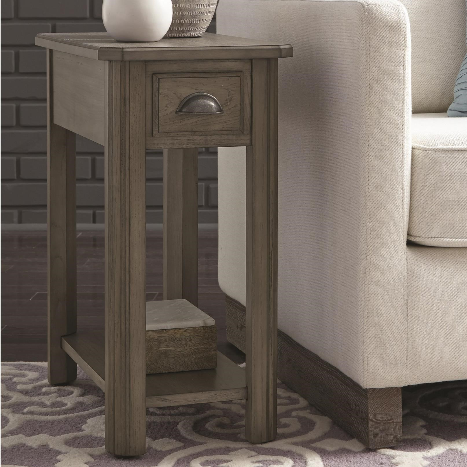 2114 Chairside End Table by Null Furniture at Westrich Furniture & Appliances