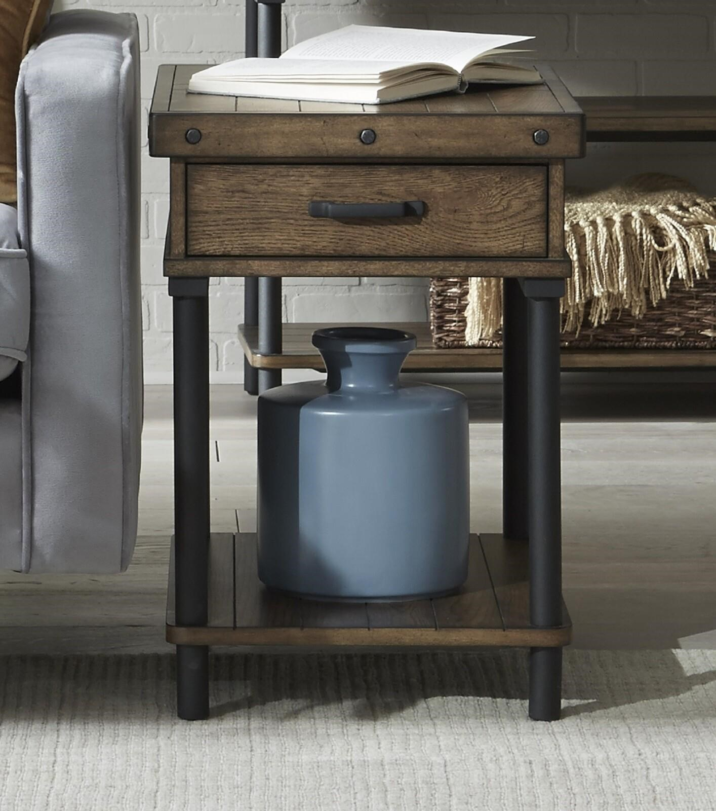 2117 Rectangular End Table by Null Furniture at Johnny Janosik