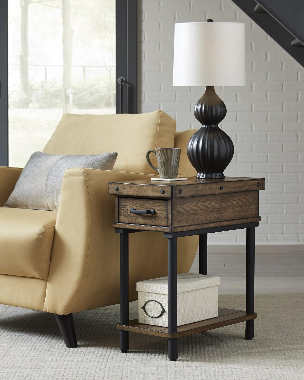 2117 Chairside End Table by Null Furniture at Johnny Janosik