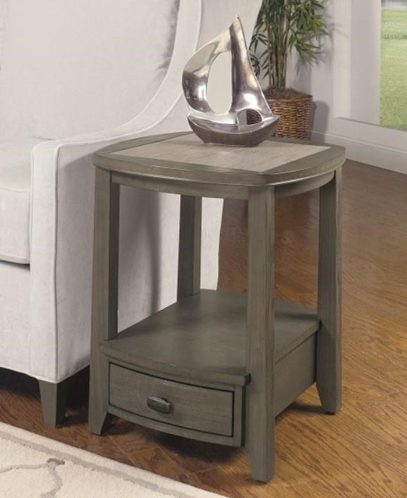 2217 Squircle End Table by Null Furniture at Esprit Decor Home Furnishings