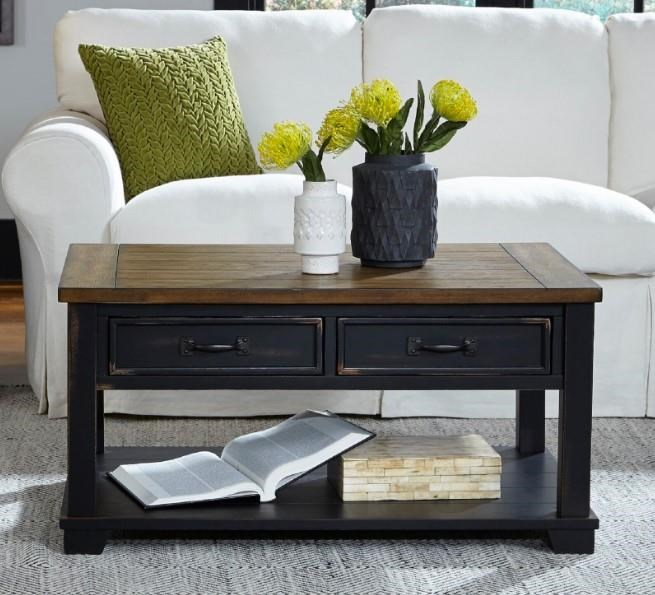 2218 Rectangular Cocktail Table by Null Furniture at Esprit Decor Home Furnishings