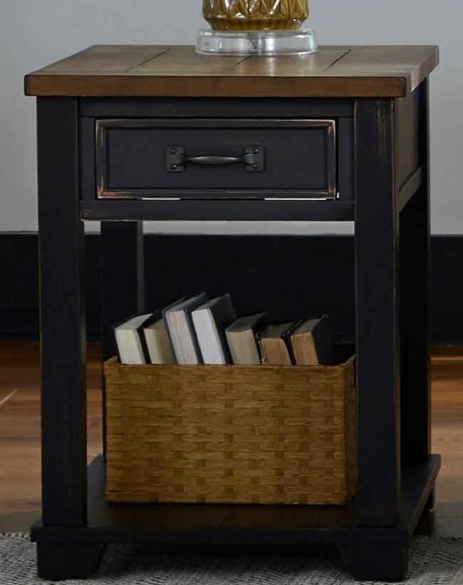 2218 Rectangular End Table by Null Furniture at Esprit Decor Home Furnishings