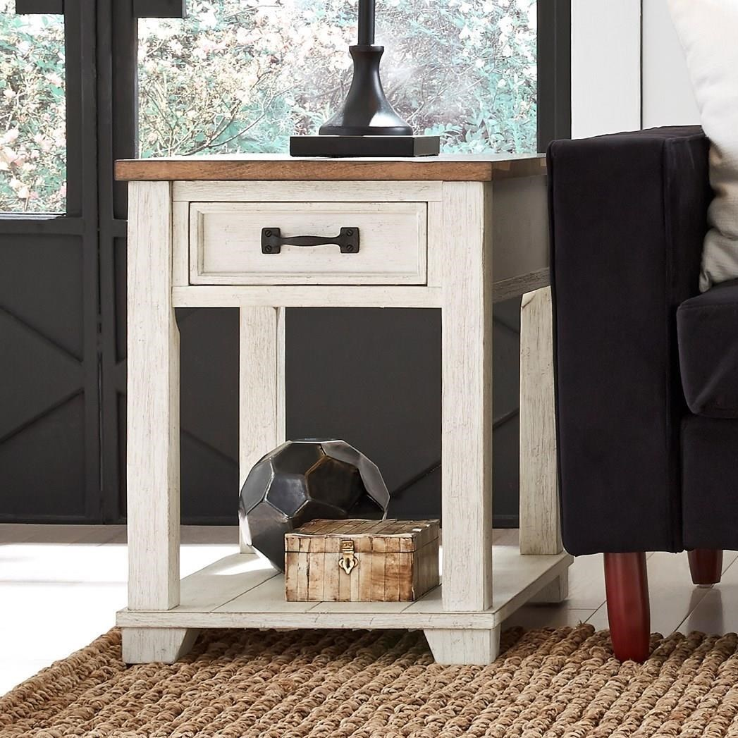 5519 Rectangular End Table by Null Furniture at Johnny Janosik