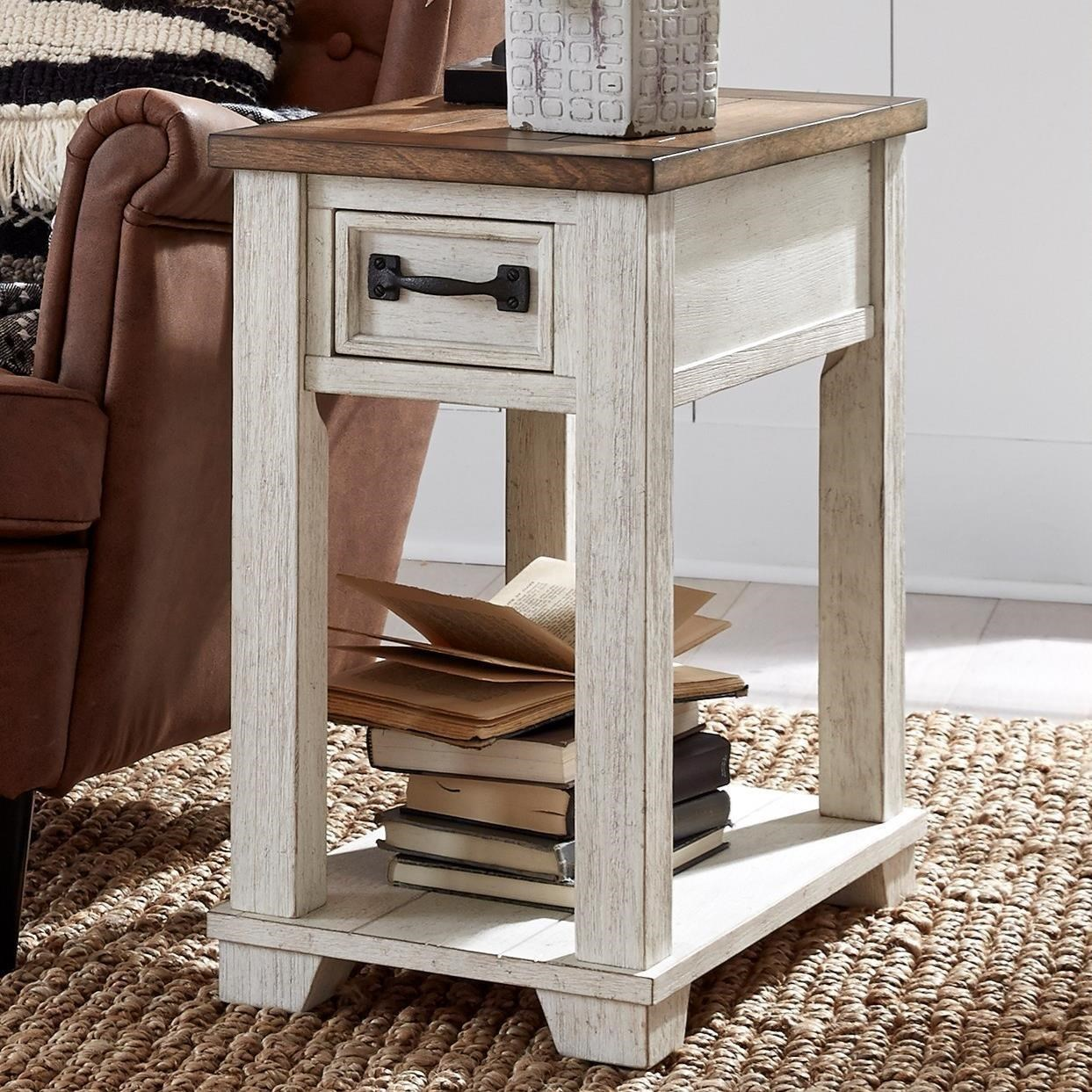 5519 Chairside End Table by Null Furniture at Westrich Furniture & Appliances