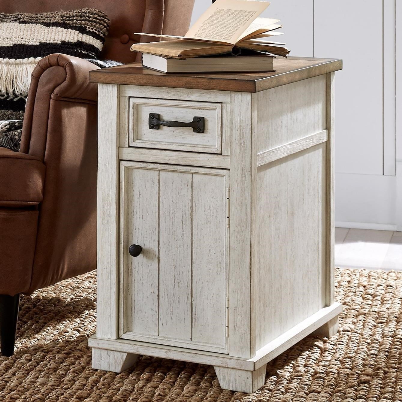 5519 Chairside Cabinet Table by Null Furniture at Westrich Furniture & Appliances