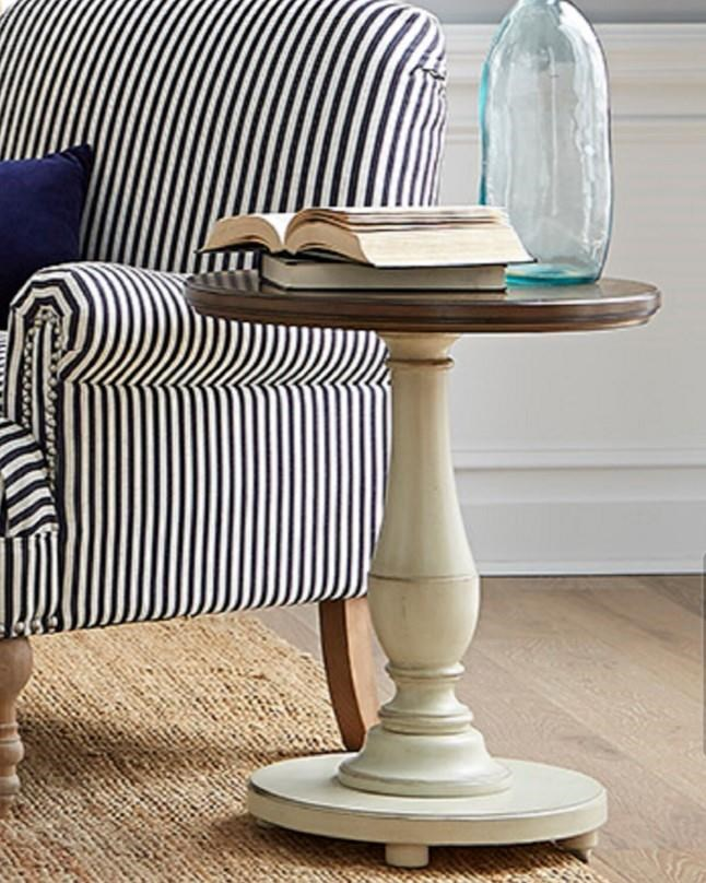 6618 Expressions Round End Table by Null Furniture at Esprit Decor Home Furnishings